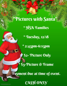 Pictures with Santa Flyer and Details